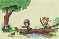 Chrono Trigger ~ Bill Watterson, by Thomas J. Dougherty