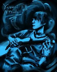 Yasunori Mitsuda, by Nate Horsfall